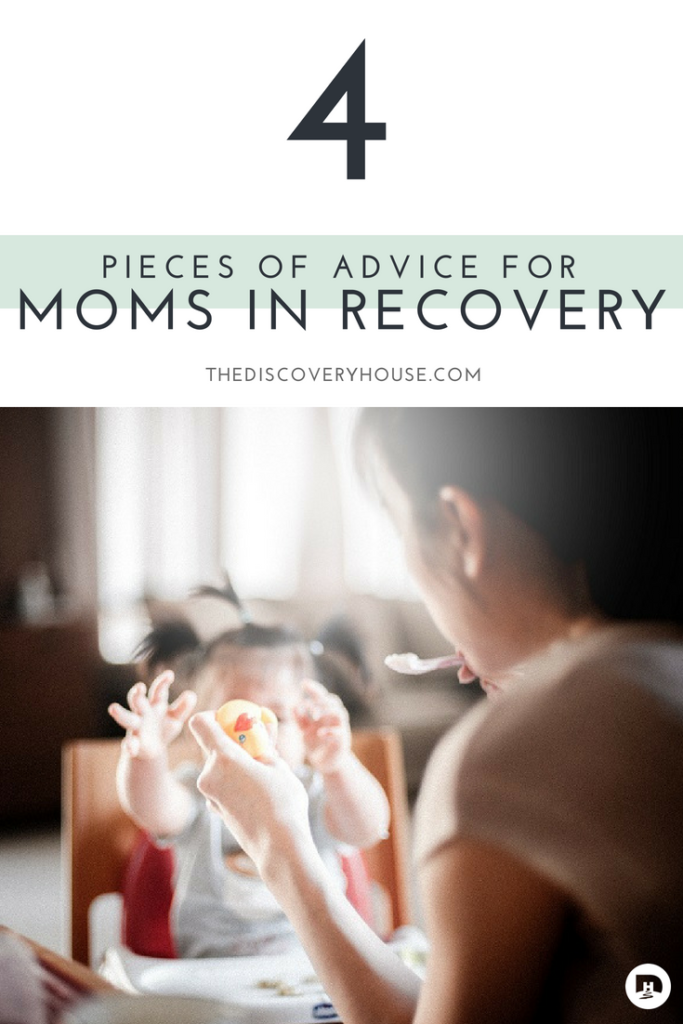 Moms are struggling and more than ever, they are turning to drugs or alcohol in order to cope. Which obviously isn't an option for moms in recovery.